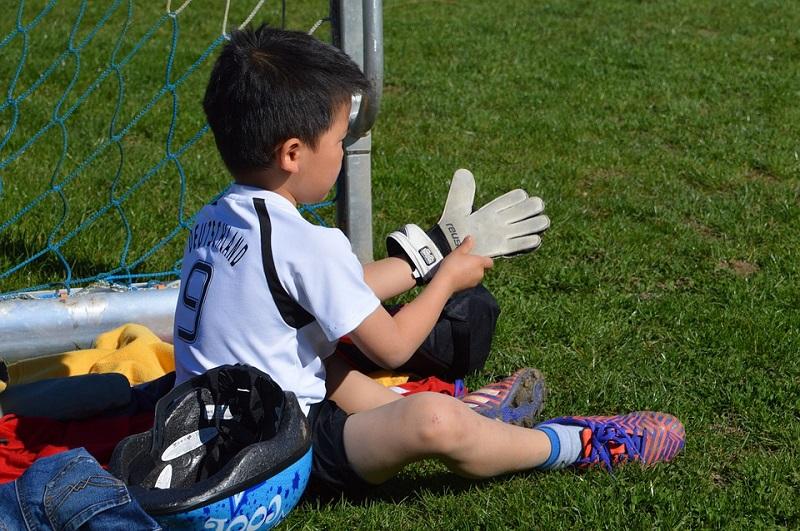 abbigliamento da calcio per bambini